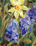 Flowers Spring Flowers Oil Paining